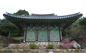 9. 미황사 응진당.보물 제1183호이다